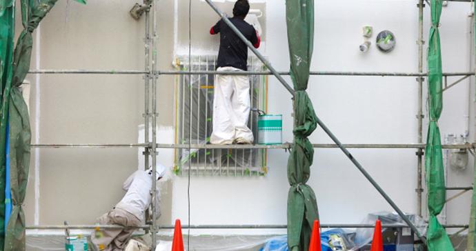住まいの外壁塗装 長浜市 中川ガス